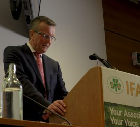 IFA urges TDs to vote against 'flawed' climate bill at Dublin protest