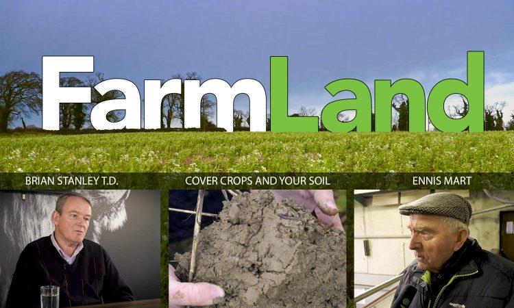 This week's FarmLand: Ennis Mart, cover crops and Sinn Féin on farming