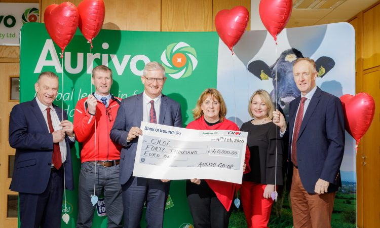 Aurivo raises €40,000 for heart and stroke charity