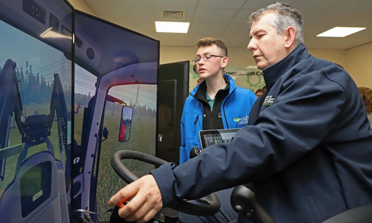 CAFRE invests £100,000 in NI's first tractor simulators