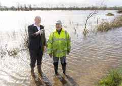 'Last time this happened the water was here for 5 months and grass was dead'