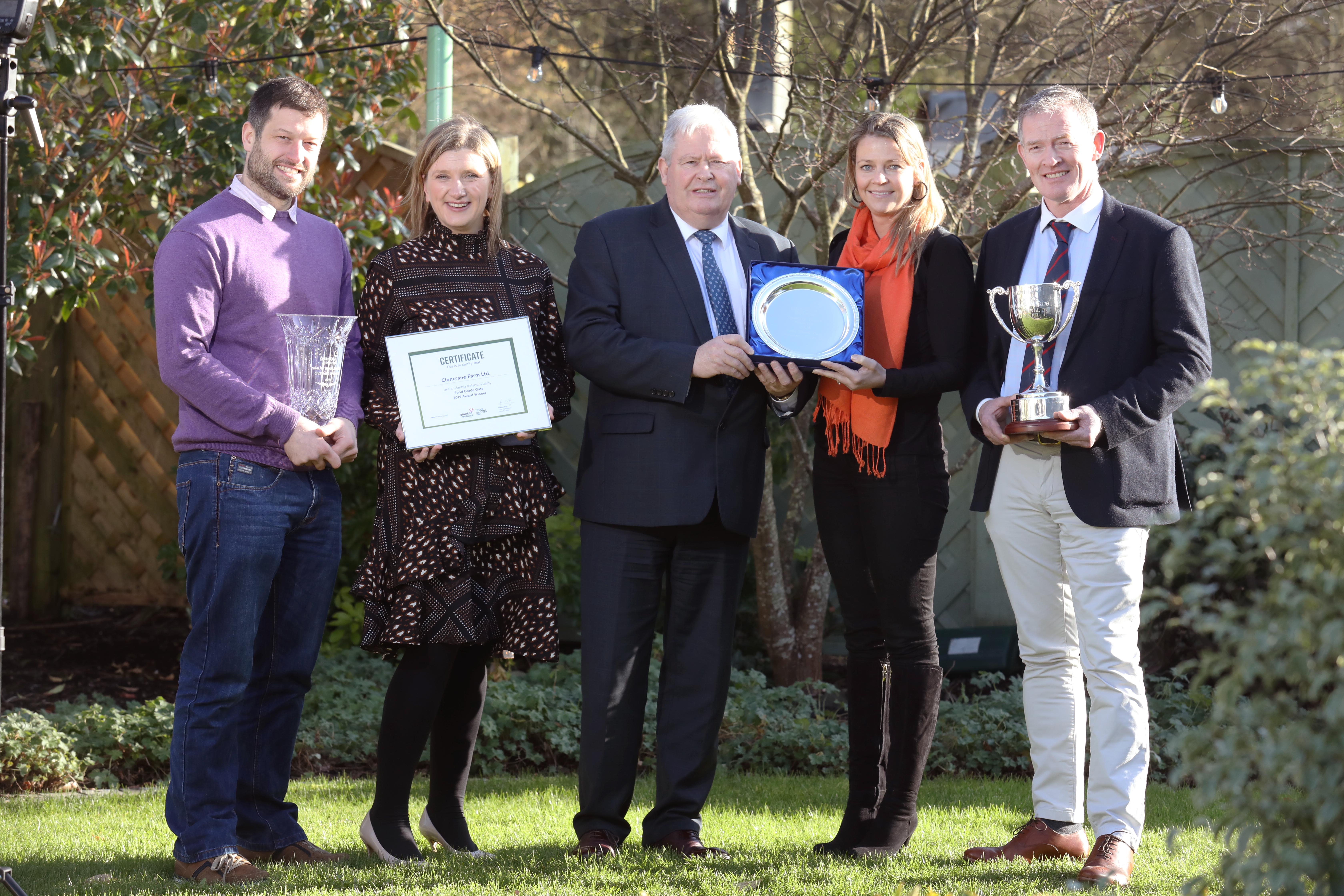 Offaly takes Glanbia's Grain Supplier of the Year Award