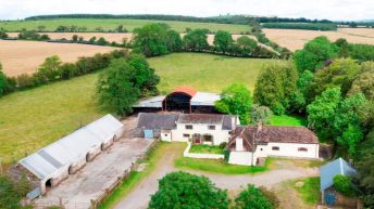 Price tag: €325,000 for farmland with unit 'capable of housing up to 100 cattle'