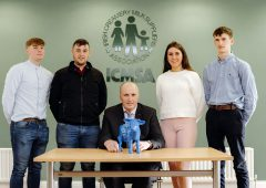 ICMSA announces winners of €6,000 John Feely scholarship