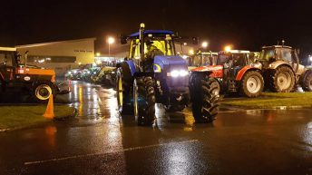 Third time's the charm: 'Parade of Light' tractor run returns