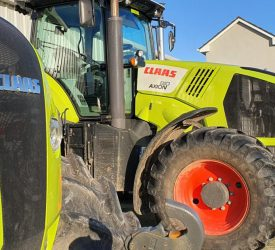How many used tractors were registered so far this year?