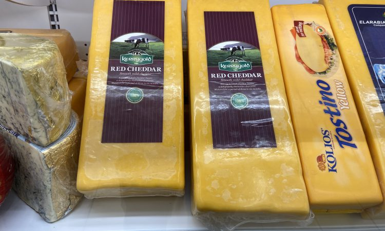 Pics: Irish cheddar cheese features on the supermarket shelves in Egypt and Algeria