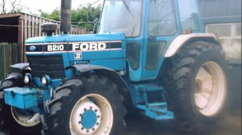 Tractor stolen from farmyard in the midlands
