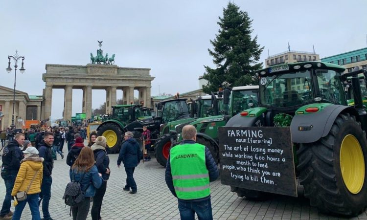 EU farmer groups to join CAP protest march in Brussels today