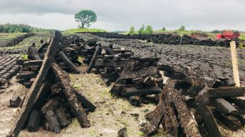 Peat harvesting and turf cutting at a standstill…due to planning issue