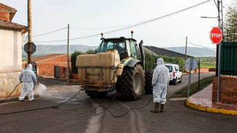 Spanish farmers assist authorities in conflict opposite Covid-19