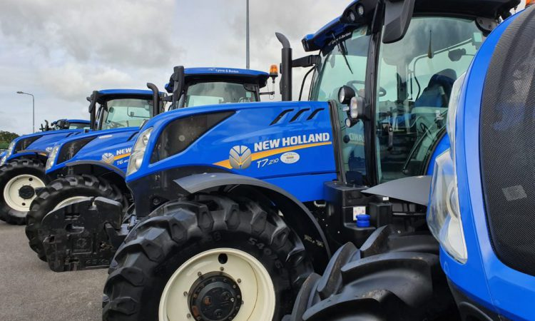 Over 1,800 new tractors licensed in Ireland since January 2020