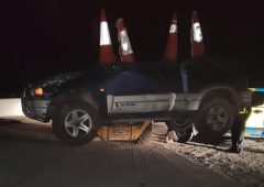 Gardaí find JCB moving a crashed 4X4…at 2:00am