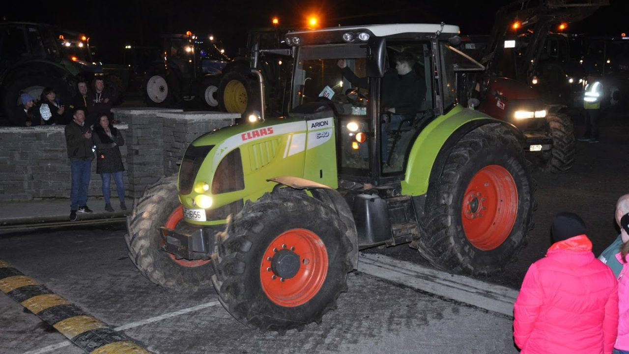 Tractor run to be held in the south…at night