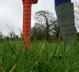 How to measure grass