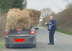 Teetering on the edge: Driver stopped in tracks by Gardaí