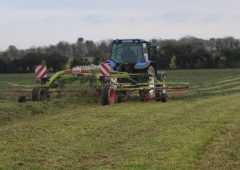 Video: Tackling first-cut silage in Co. Meath