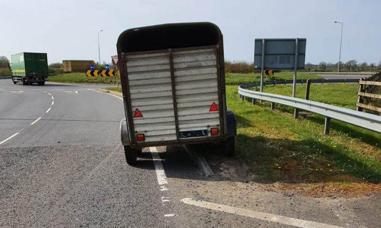 Farmer collecting animal sent home from Garda checkpoint