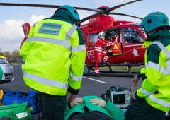 Farmers urged to reduce risks as Northern Ireland's Air Ambulance is grounded
