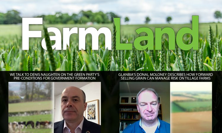 This week's FarmLand: Naughten on GHG emissions; and Glanbia on grain prices…