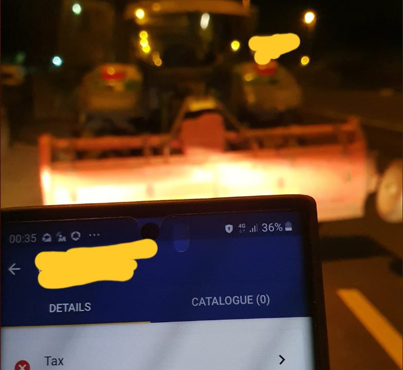 Gardaí stop tractor on road not taxed…in almost 5,500 days