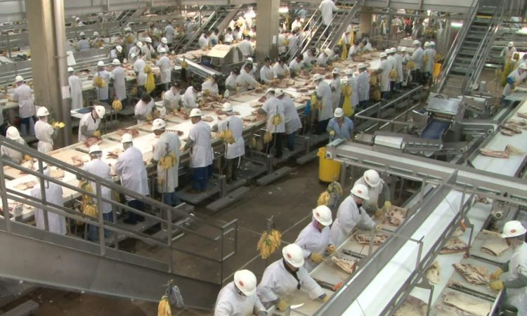 US meat giant on Covid-19: 'The food supply chain is breaking'
