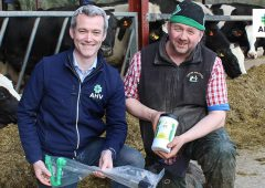 Roger Barkley on Cappoquin Estate committing to reducing antibiotic usage and getting more milk in the tank