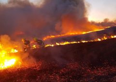 Farmers urged to be 'extra vigilant' with red fire warning in place