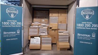 Over 8 million cigarettes smuggled in frozen chicken container