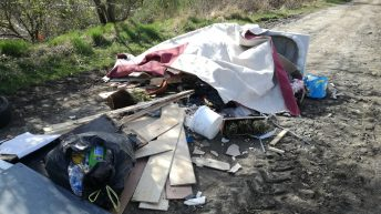 Calls for councils to free recycling centres as fly-tipping continues