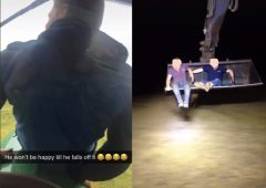 Tiktok farm machinery pranks 'an accident waiting to happen'