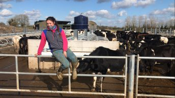 'No matter how far we fall, we always go again': Young farmer