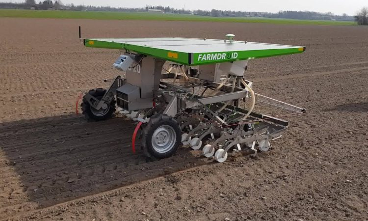 Will this robot be part of the future of organics?