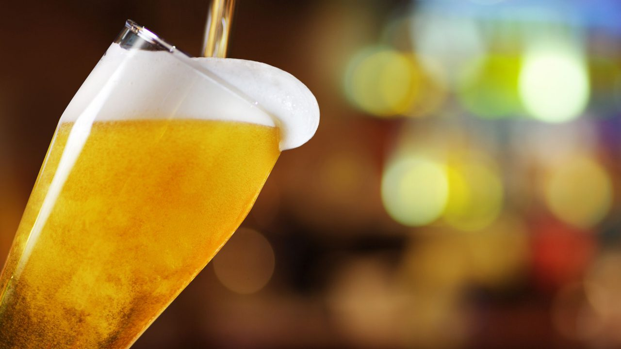 24 million less pints pulled in April…less barley used