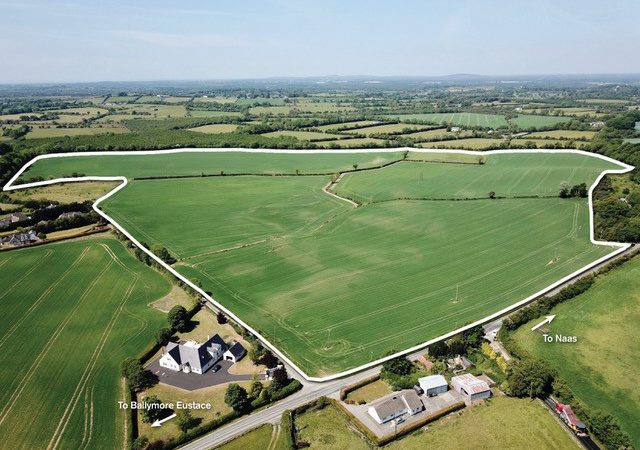 Non-residential farm with 'Elton' and 'Dunstown' Series soil for sale in Co. Kildare