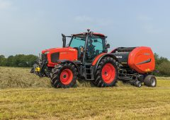 Kubota's 104-135hp MGX-IV tractors are the ultimate all-rounders