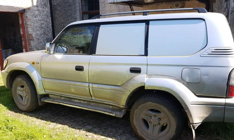 Land Cruiser stolen from Tipperary in evening raid