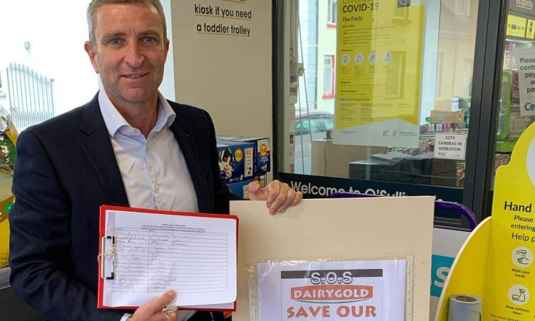 Petition to save Dairygold store from closure