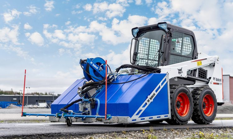 Bobcat launches new 'versatile' attachment for high-pressure water cleaning