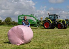 #PinkBales initiative back for the 2020 silage season