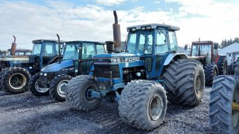 Pics: 90 Bord na Móna tractors to go under the hammer…online