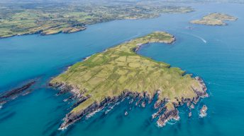 Video: 123.85ac private island used for grazing…up for grabs off Co. Cork coast
