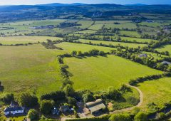 Productive land, residence and outbuildings: On the market in Co. Dublin
