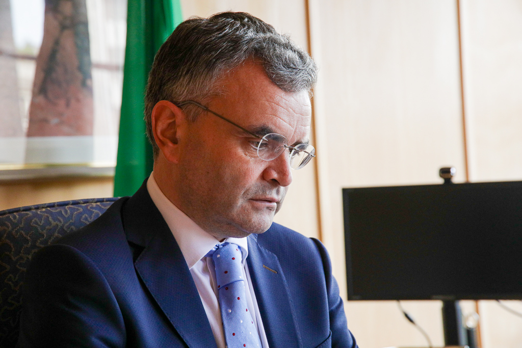 Dara Calleary has resigned as Minister for Agriculture