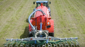 Using LESS is a more efficient way to spread slurry