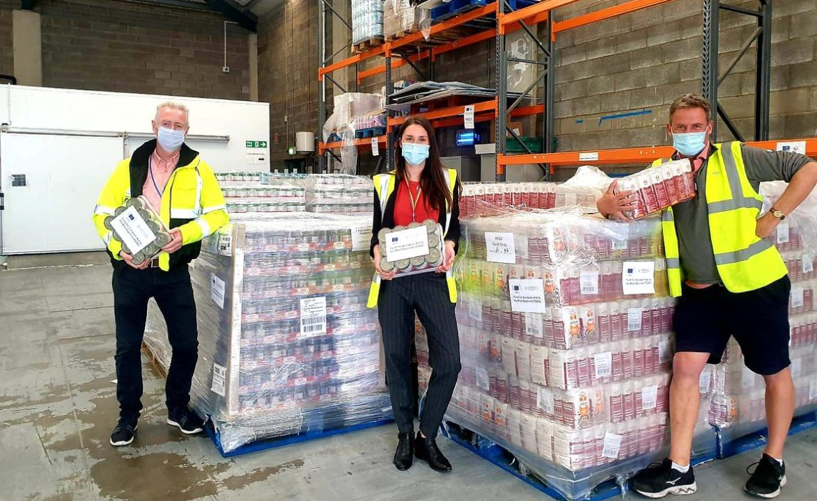 100 million meals redistributed to community groups across Ireland and the UK since 2013