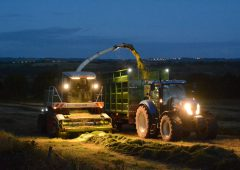 'All night silage-cutting' complaint prompts fiery online debate