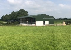 Buildings Focus: A tidy 5-bay slatted unit with a lieback area in Co. Tipperary