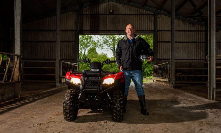 'I loved it': John 'Bull' Hayes test-drives Bóthar's quad bike for 'Ploughing' draw