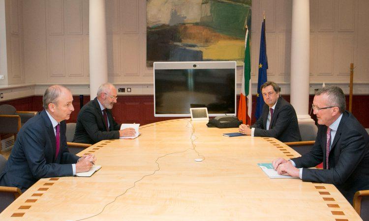 Cullinan meets Taoiseach to discuss Calleary and Hogan